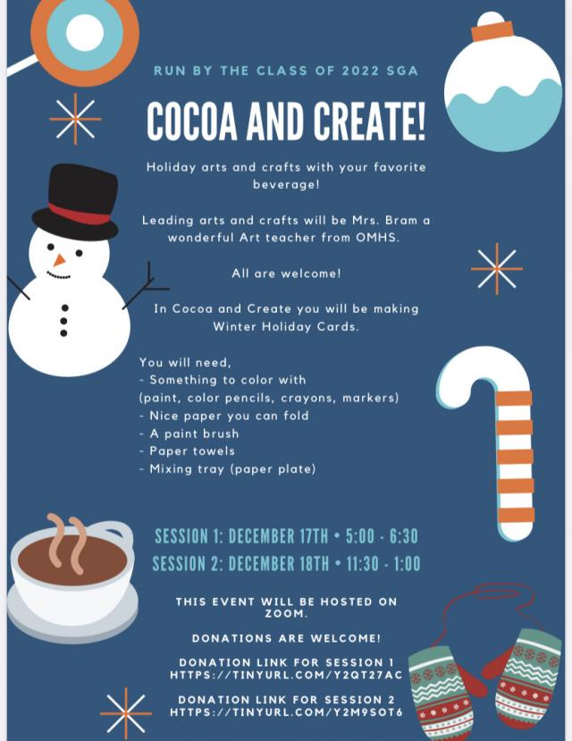 Flier for Cocoa and Create
